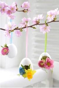 arranjo casca do ovo a casa cheia