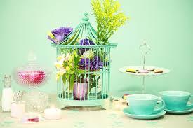 arranjo+gaiola+chá a casa cheia