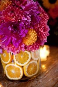 flores+frutas+a casa cheia