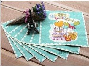 Printing-font-b-napkins-b-font-color-font-b-paper-b-font-towel-color-kleenex-birthday