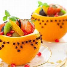 salada de fruta na fruta