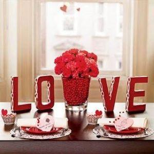 decoracao-dia-dos-namorados- LOVE coração