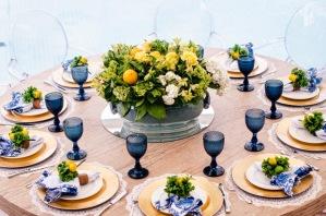 mesa-verde-amarela-decoração