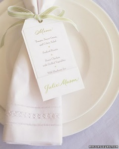 5 menu cardápio papelaria casamento