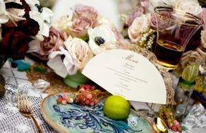 6 menu cardápio papelaria casamento