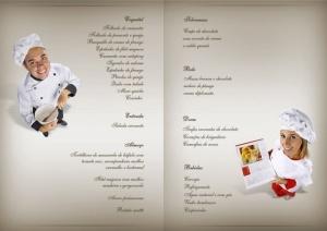 8 menu cardápio papelaria casamento