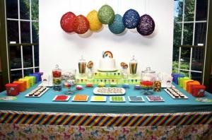 decoracao-festa-infantil-arco-iris