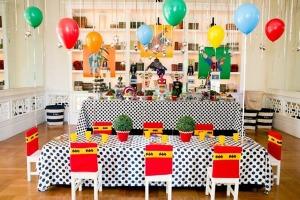 Super-heróis-Tema-para-festa-de-aniversário-infantil-Decoração